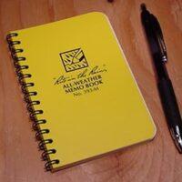 Rite in the Rain 393-M mini spiral notebook