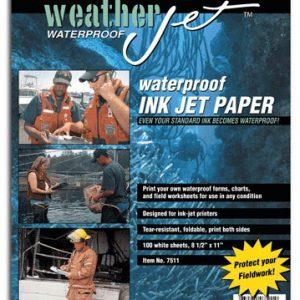 WeatherJet Waterproof Ink Jet Printer Paper - 100