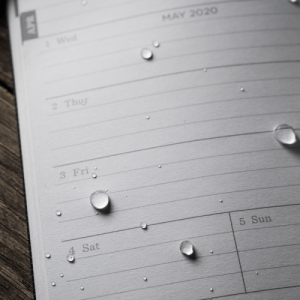 rite in the rain pc2020 pocket calendar waterproof